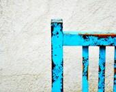 Blue Chair Print 5 x 7 (Inches)