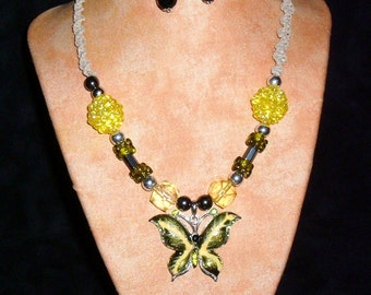 Hemp necklace LemonFly