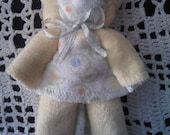 Teddy Bear Baby Washcloth Favor Gift, Baby Shower, Party Favor, Diaper Cake Topper,