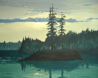Original Painting - Peace and Quiet
