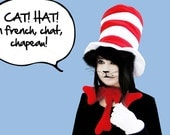 Dr Seuss -- Cat in the Hat --  Hat & Bow-Tie