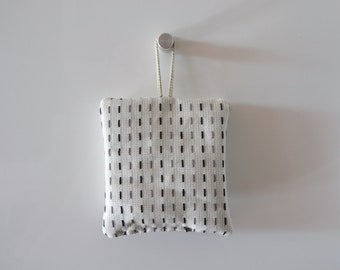white lavender sachets - minimal - modern home decor - black grey and white lavender sachtes- lavender pillow
