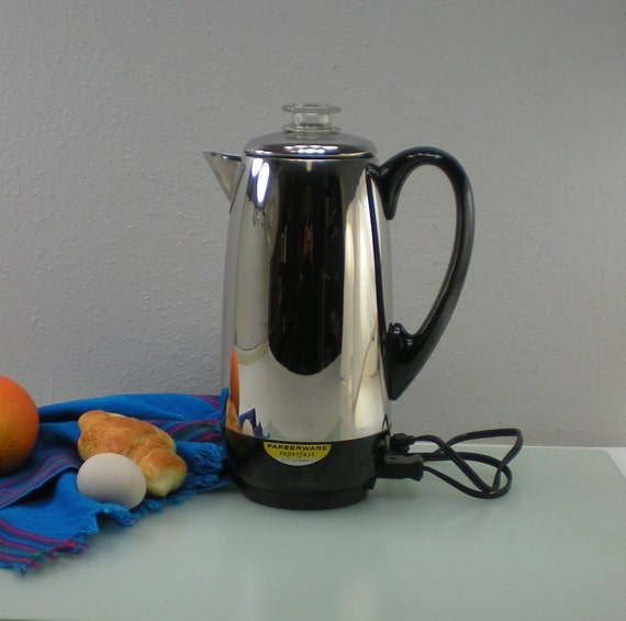 Farberware Coffee Maker Cleaning : Farberware Coffee Maker Superfast Stainless Percolator 12 Cup