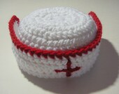 Nurse Hat - Five Sizes Available