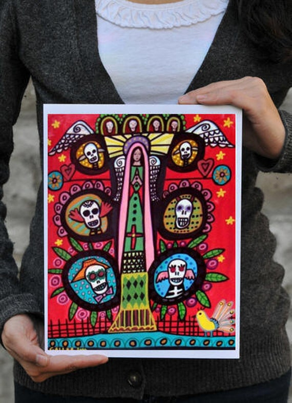 60% Off- Day of the Dead, Mexican Folk Art (HG374)