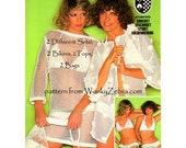Vintage Crochet Pattern PDF 137 Fishnet Bikinis from WonkyZebra