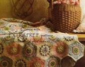 Vintage Crochet Pattern 224 PDF Afghan Pattern from WonkyZebra