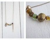 Recycled Bohemian One of a Kind Necklace