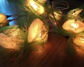 Flower Fairy Lights Ivory  4 metres