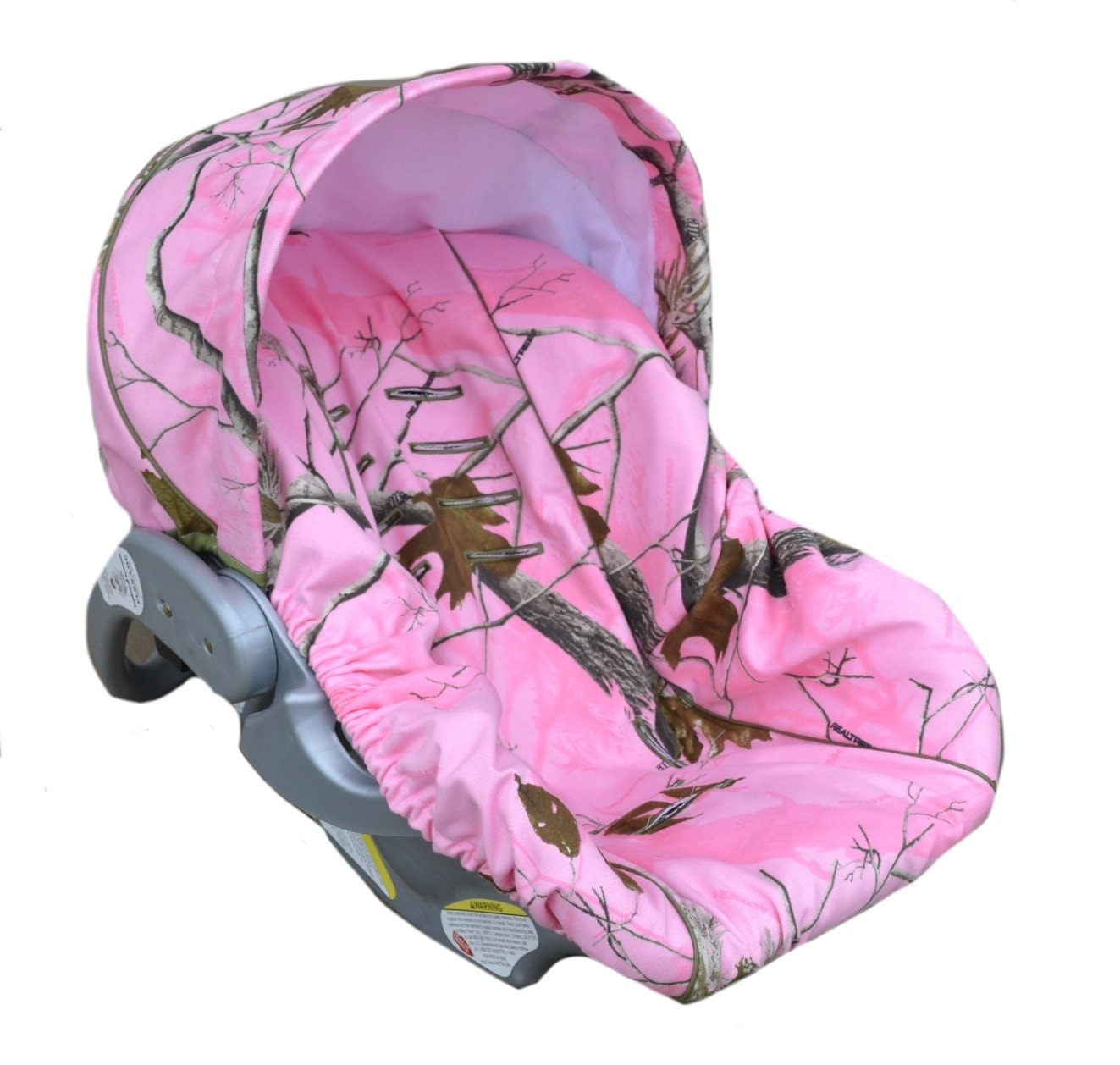 Baby Car Sear Cover Infant Car Seat Cover Slip Cover Pink