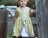 INSTANT DOWNLOAD- Tessa Dress (Sizes 12/18 months to Size 8) PDF Sewing Pattern and Tutorial