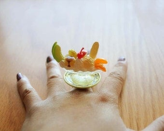 Ice Cream and pudding ring