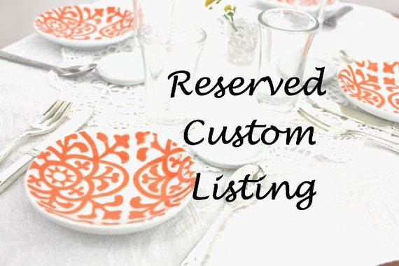 Reserved Custom Listing For Nancy Mensch Food For American Girl Dolls