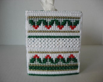 Holly berry tissue cover