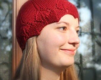 Gabrielle Cloche Knit Pattern PDF in 3 sizes