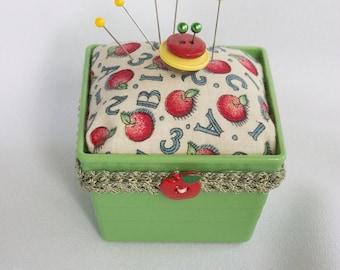 SALE  Apples Pincushion