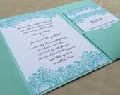 Decorative Swirls Invitation Suite