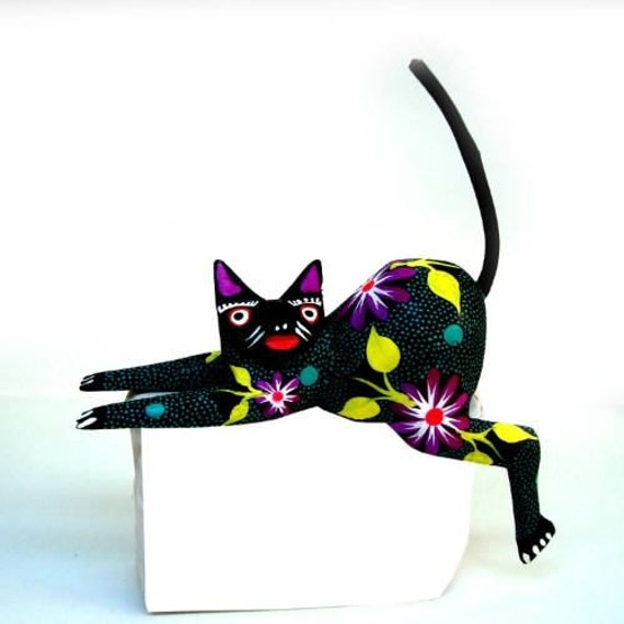 Oaxacan wood carving animals