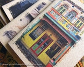 Colourful Notebook 15 - Colorful Shophouses - Travel Inspirations in your Pocket - Shop House Mini Journal
