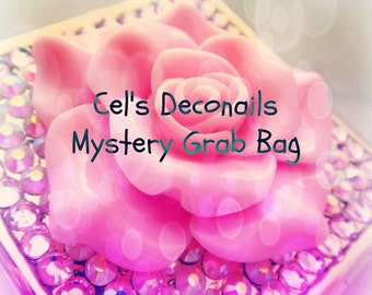 Cel's Deconails jewelry grab bag, medium size, Holiday party, Christmas gift