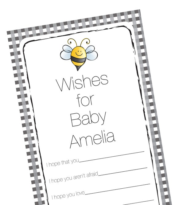 Baby Shower Well Wishes Cards Advice Wishes For Baby