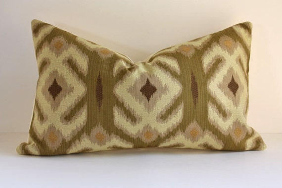 SALE - Ethnic Ikat Pillow Cover / Select Your Size