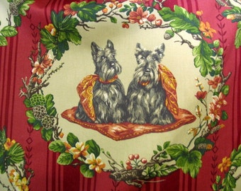 SCOTTIES Everywhere -cotton print