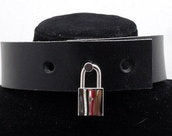 BDSM Small Shiny Square Nickel Padlock - Free US Shipping