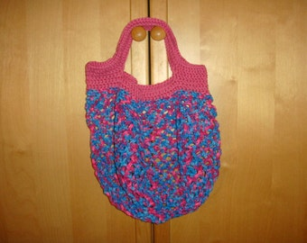 Net Market Bag Purse Recycle and never use Plastic Again PDF Pattern Instant Download