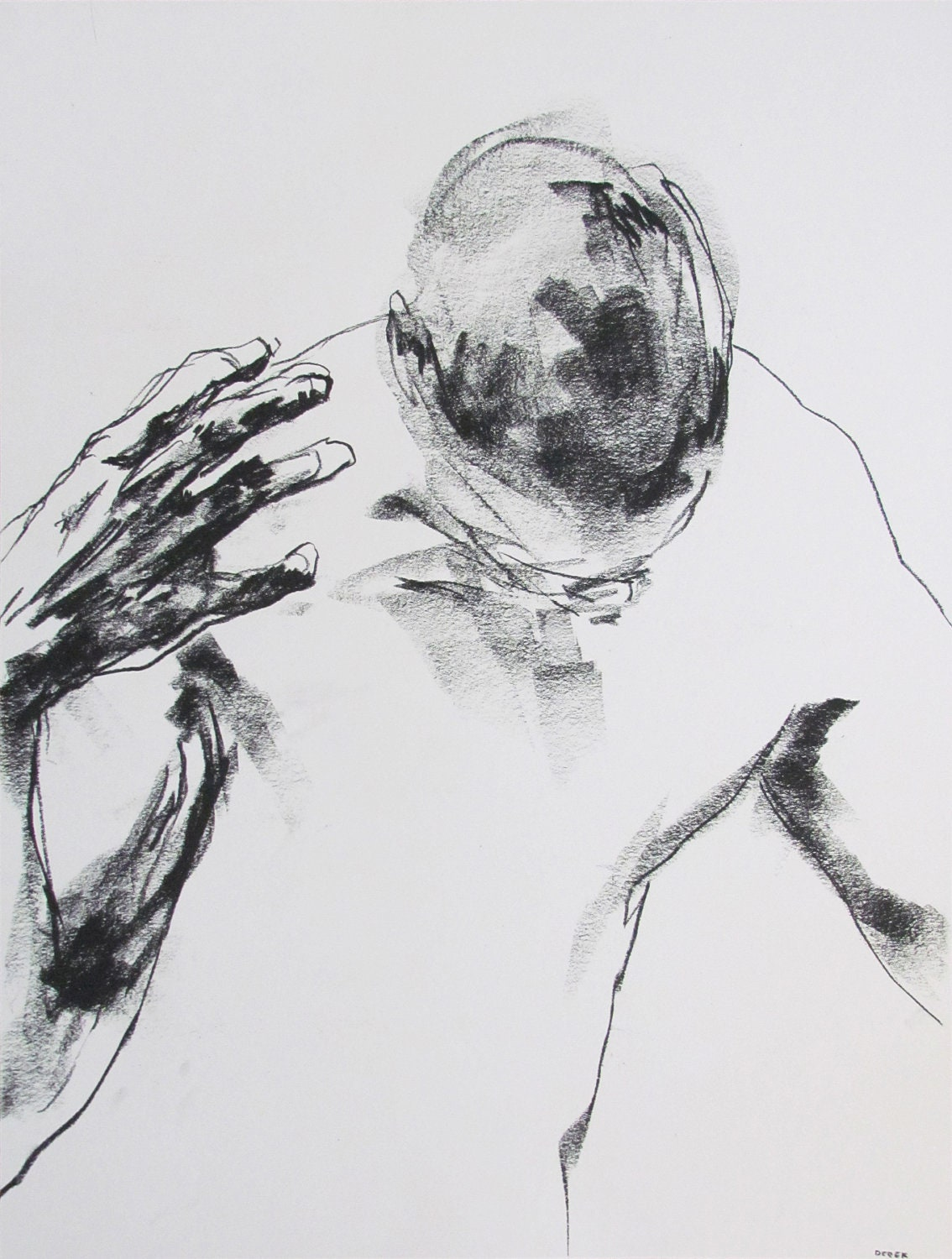 It is a picture of Mesmerizing Figure Drawing Male