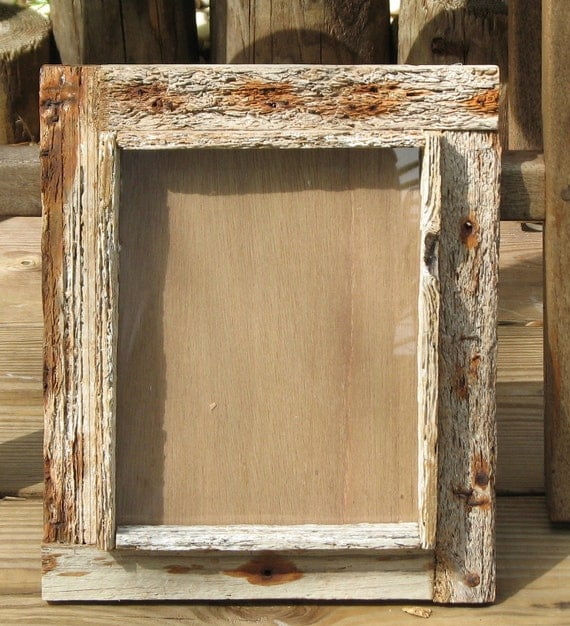Items Similar To 8x10 Frame Rustic Shadowbox Design Key