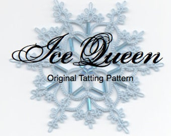 Ice Queen -  TATTING PATTERN