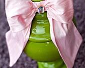 Chole Von Pink  Dupioni Silk Bow