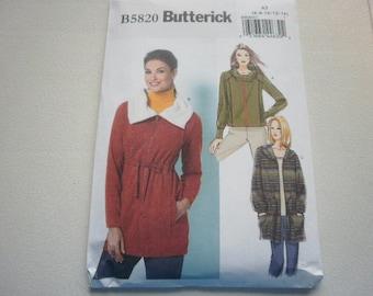 Pattern Ladies Jackets 3 Styles Sz 6 to  14  Butterick 5820