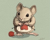 Knitty Nutty Mrs. Mouse