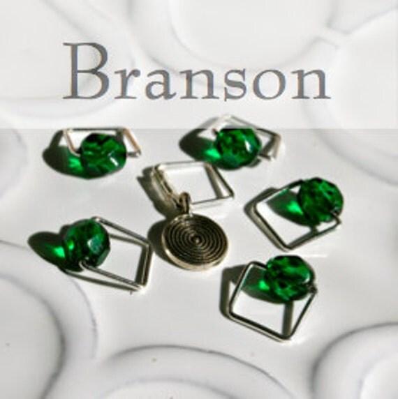 Tom Branson, Inspired by Downton Abbey . . . Stitch Marker Set