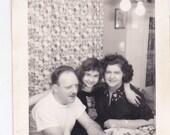 Family - Vintage Photograph, Vernacular, Ephemera, Found Photo  (XX)