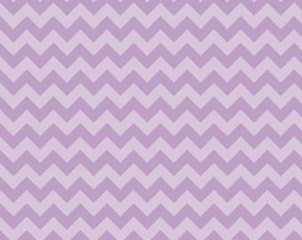 Chevron Lavender Small Chevron Tone on Tone for Riley Blake, 1/2 yard