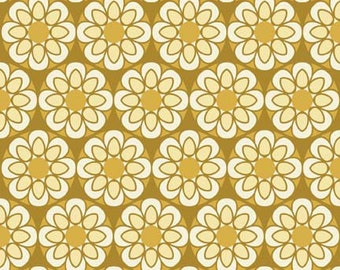 So Sophie Gold Petal by My Mind's Eye for Riley Blake, 1/2 yard