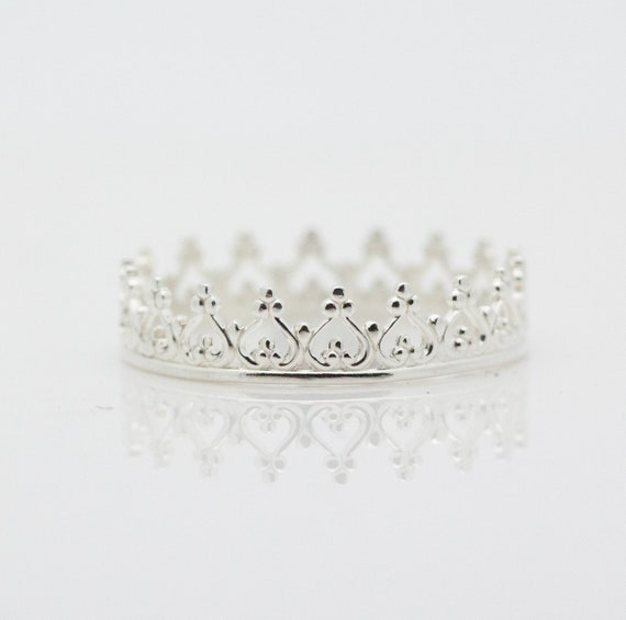 Crown Ring Unisilver