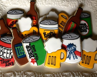 Let's Drink Beer Sugar Cookie Collection