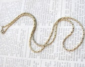 Clearance....Vintage 12K Gold filled chain