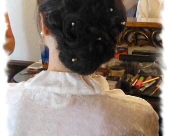 Pearl Hair Pins, Pearl Bobby Pins, Wedding Hair Pins, Swarovski Pearl Bridal Hair Pins, 12 Pearl Wedding Bobby Pins, Head Pins, Hair Jewelry