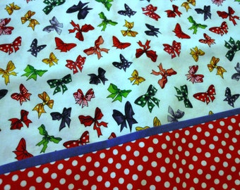 Set of Pillowcases Dotted Bows Standard Size