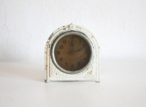 Antique Ivory Alarm Clock