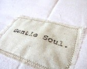 Gentle Soul soft pink flannel baby blanket - Free shipping through August