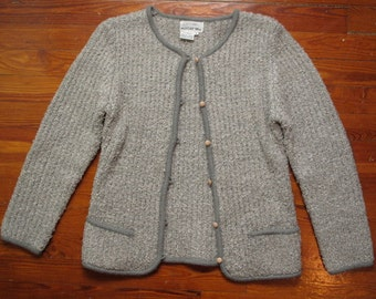 women's Rich's vintage gray cardigan