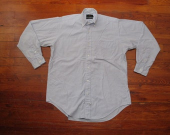 mens vintage abercrombie and fitch oxford shirt