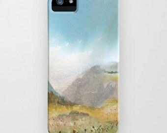 Meadow Phone Case - Landscape Painting - Designer iPhone Samsung Case