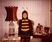 Download Now // Vintage // Color Photo // Halloween Costume  Bumble Bee // Snapshot                   0717
